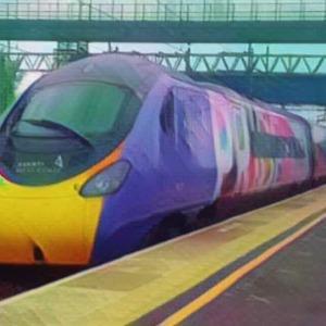 Midlands trainspotting